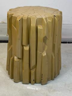 Alberto Giacometti MODERNIST ABSTRACT FACETED PLASTER TABLE IN THE MANNER OF GIACOMETTI - 1909897