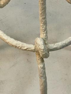 Alberto Giacometti PAIR OF WHITE BRUTALIST KNOT FLOOR LAMPS IN THE MANNER OF ALBERTO GIACOMETTI - 1218320