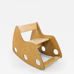 Albrecht Lange Hans Mitzlaff Plywood Childs Rocker by Albrecht Lange Hans Mitzlaff - 234819