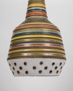 Aldo Londi 1950s Aldo Londi Ceramic Bitossi Pendant Lamp for Italian Raymor - 983368