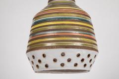 Aldo Londi 1950s Aldo Londi Ceramic Bitossi Pendant Lamp for Italian Raymor - 983369