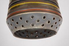 Aldo Londi 1950s Aldo Londi Ceramic Bitossi Pendant Lamp for Italian Raymor - 983370