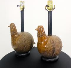 Aldo Londi Pair of Mid Century Modern Table Lamps by Aldo Londi for Bitossi - 565786