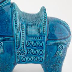 Aldo Londi Rimini Blu ceramic horse by Aldo Londi for Bitossi circa 1960s - 758843