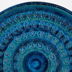 Aldo Londi Rimini Blu ceramic platter by Aldo Londi for Bitossi circa 1960s - 758767