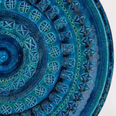 Aldo Londi Rimini Blu ceramic platter by Aldo Londi for Bitossi circa 1960s - 758768