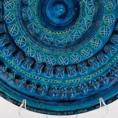 Aldo Londi Rimini Blu ceramic platter by Aldo Londi for Bitossi circa 1960s - 758781
