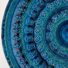 Aldo Londi Rimini Blu ceramic platter by Aldo Londi for Bitossi circa 1960s - 758782