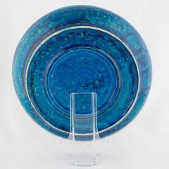 Aldo Londi Rimini Blu ceramic platter by Aldo Londi for Bitossi circa 1960s - 758783