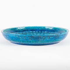 Aldo Londi Rimini Blu ceramic platter by Aldo Londi for Bitossi circa 1960s - 758784