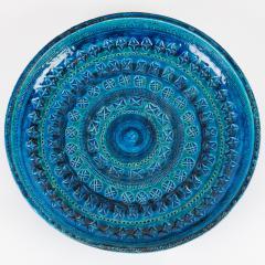 Aldo Londi Rimini Blu ceramic platter by Aldo Londi for Bitossi circa 1960s - 758785