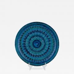 Aldo Londi Rimini Blu ceramic platter by Aldo Londi for Bitossi circa 1960s - 758963