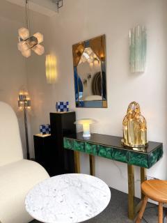 Aldo Nason Brass and Murano Glass Lamp by Aldo Nason for Mazzega Italy 1970s - 1930506