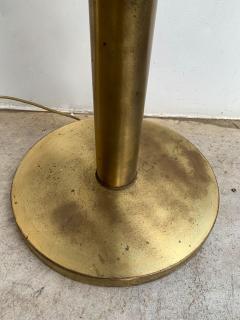 Aldo Nason Floor Lamp Brass Murano Glass by Aldo Nason for Mazzega Italy 1970s - 1202881