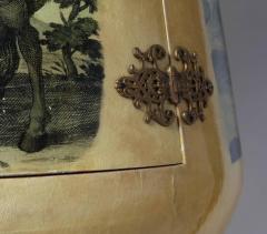 Aldo Tura 1950s Goblet Shaped Goatskin Clad Bar Cabinet by Aldo Tura - 507957