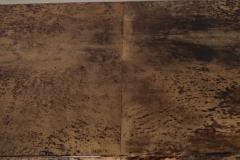 Aldo Tura Aldo Tura Console Table with Contemporary Mirror Polished Bronze Base - 448053