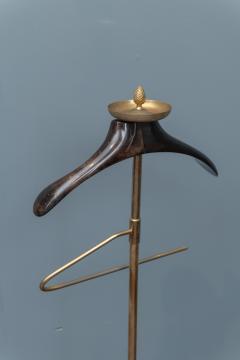 Aldo Tura Aldo Tura Gilt Brass and Parchment Valet - 1654742