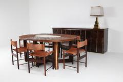 Aldo Tura Aldo Tura High End Credenza in Brass and Parchment 1960s - 1104443