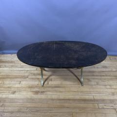 Aldo Tura Aldo Tura Lacquered Goatskin and Brass Surfboard Coffee Table Italy 1960s - 1689745