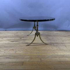 Aldo Tura Aldo Tura Lacquered Goatskin and Brass Surfboard Coffee Table Italy 1960s - 1689749
