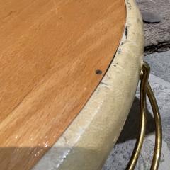 Aldo Tura Aldo Tura Macabo Exquisite Serving Tray Mirrored Goatskin Brass ITALY 1940s - 2083130
