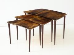 Aldo Tura Aldo Tura Nesting Tables Italy - 1079087