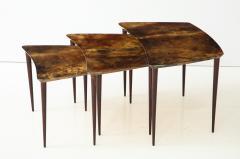 Aldo Tura Aldo Tura Nesting Tables Italy - 1079088