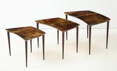 Aldo Tura Aldo Tura Nesting Tables Italy - 1079089