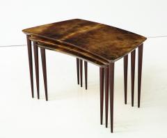 Aldo Tura Aldo Tura Nesting Tables Italy - 1079112