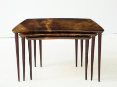 Aldo Tura Aldo Tura Nesting Tables Italy - 1079120