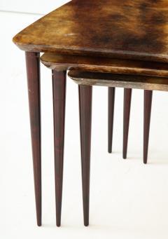 Aldo Tura Aldo Tura Nesting Tables Italy - 1079121