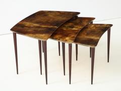 Aldo Tura Aldo Tura Nesting Tables Italy - 1079122