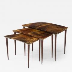Aldo Tura Aldo Tura Nesting Tables Italy - 1079550