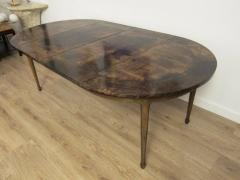 Aldo Tura Extending Parchment Top Dining Table by Aldo Tura Italy 1970 - 1307795