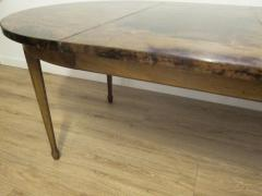 Aldo Tura Extending Parchment Top Dining Table by Aldo Tura Italy 1970 - 1307797