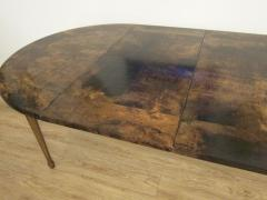 Aldo Tura Extending Parchment Top Dining Table by Aldo Tura Italy 1970 - 1307798