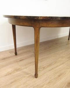 Aldo Tura Extending Parchment Top Dining Table by Aldo Tura Italy 1970 - 1307799