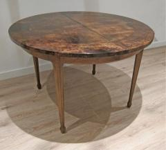 Aldo Tura Extending Parchment Top Dining Table by Aldo Tura Italy 1970 - 1307808