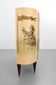 Aldo Tura LACQUERED PARCHMENT BAR CABINET BY ALDO TURA - 1911373