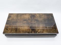 Aldo Tura Large goatskin parchment coffee table by Aldo Tura 1960s - 1327328