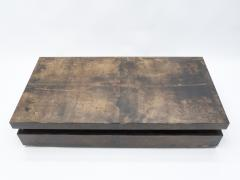 Aldo Tura Large goatskin parchment coffee table by Aldo Tura 1960s - 1327329