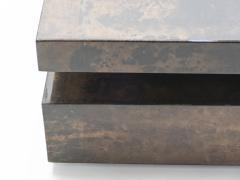 Aldo Tura Large goatskin parchment coffee table by Aldo Tura 1960s - 1327334