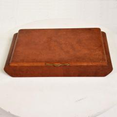 Aldo Tura Mid Century Modern Burlwood Box Made in Italy Aldo Tura MACABO Era - 1228139