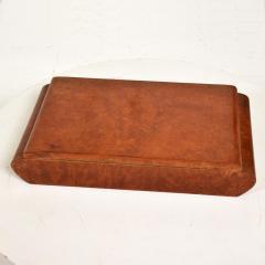 Aldo Tura Mid Century Modern Burlwood Box Made in Italy Aldo Tura MACABO Era - 1228140