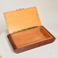 Aldo Tura Mid Century Modern Burlwood Box Made in Italy Aldo Tura MACABO Era - 1228145
