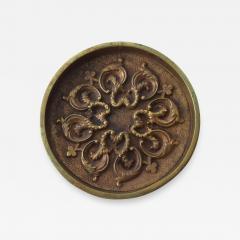 Aldo Tura MidCentury Modern Decorative BRONZE Ashtray - 1273276