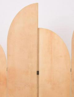 Aldo Tura RARE ART D CO LACQUERED PARCHMENT SCREEN BY ALDO TURA - 1911339