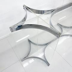 Alessandro Albrizzi Alessandro Albrizzi Dining Table Base Chrome Plated Steel And Lucite - 1967368
