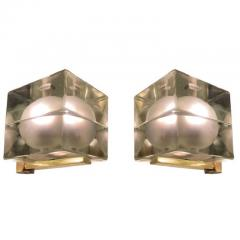 Alessandro Mendini Cubosfera Wall Lights by Alessandro Mendini Frosted Version - 1147878