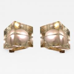 Alessandro Mendini Cubosfera Wall Lights by Alessandro Mendini Frosted Version - 1148375